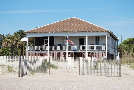 The Randolph Cottage Oceanfront Tybee Island Vacation