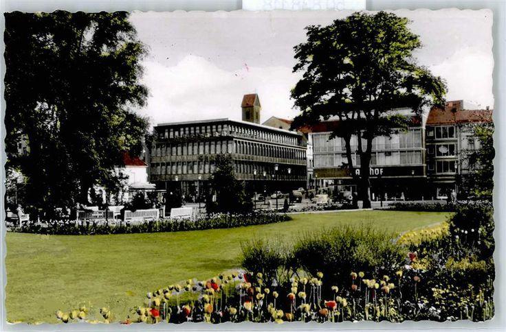 Lüdenscheid Straßenstern, in den 60ern ...