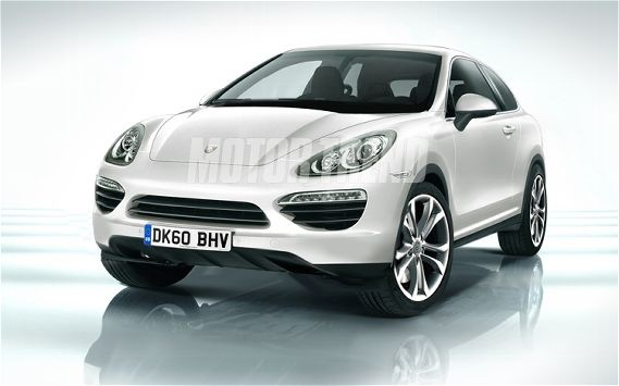 Porsche Cajun Crossover Front Illustration Photo 1
