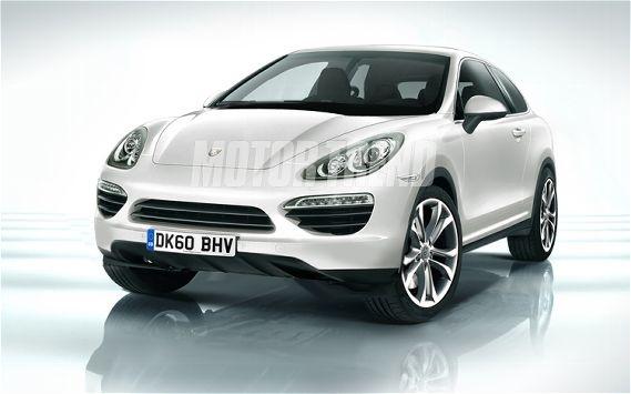 Porsche Cajun Crossover Front Illustration Photo 1