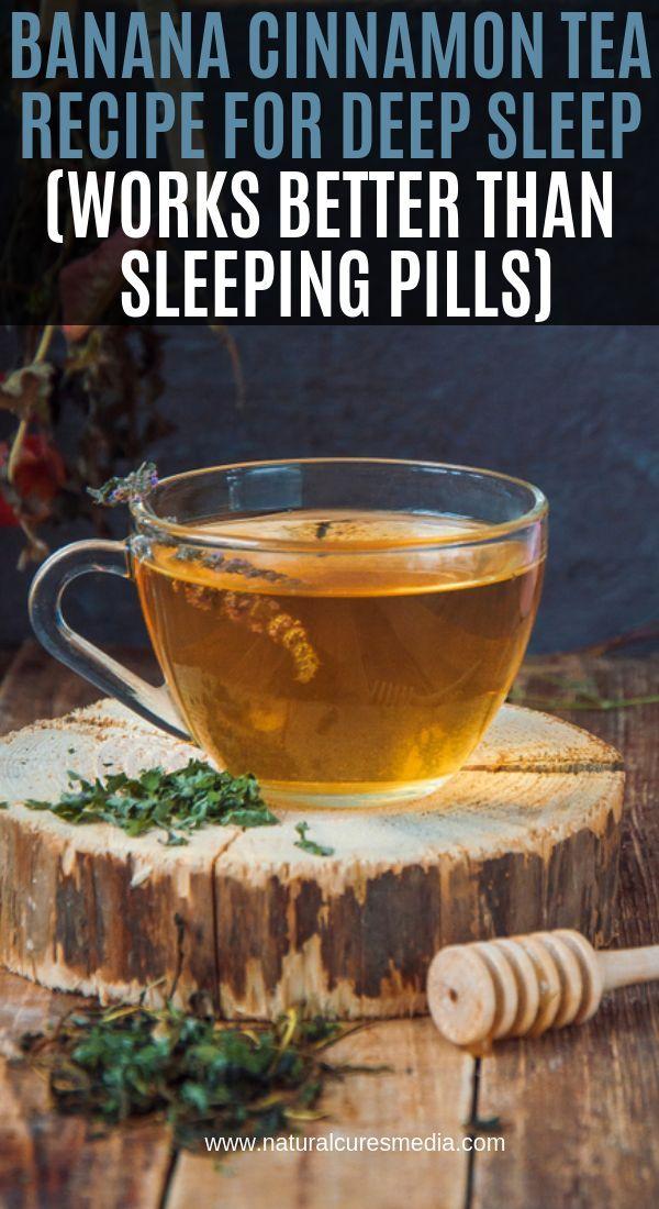 Bananen Zimt Tee Rezept Fur Tiefen Schlaf Funktioniert Besser Als Schlaftabletten Food Tee Rezepte Bananen Zimt Tee Schlaftablette