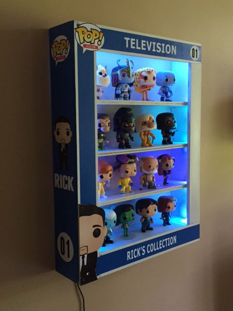 Custom POP Display Case with LED Lights