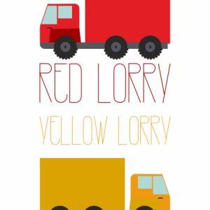 Plakat Lorries / Ciężarówki - NUNU BABA