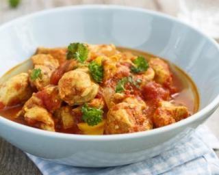 Curry de poulet épicé au lait de coco spécial Thermomix®