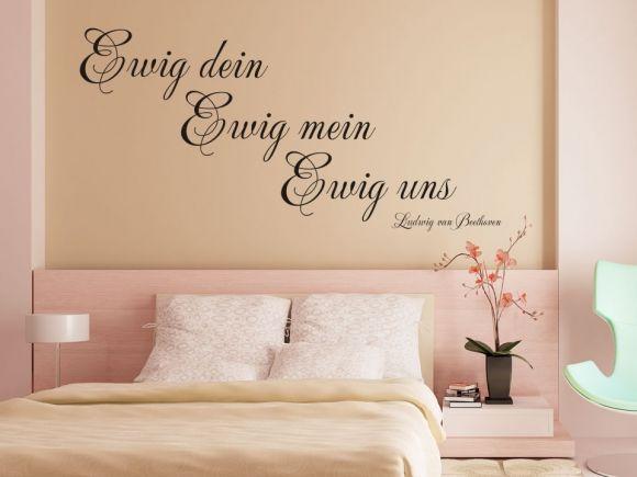 25+ parasta ideaa Pinterestissä Wandtattoo Für Schlafzimmer - wohnideen fr schlafzimmer mit wandtattoo