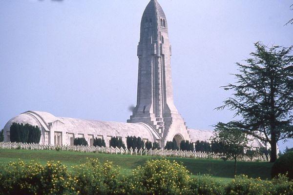 Douaumont Ossuary in Verdun, France
