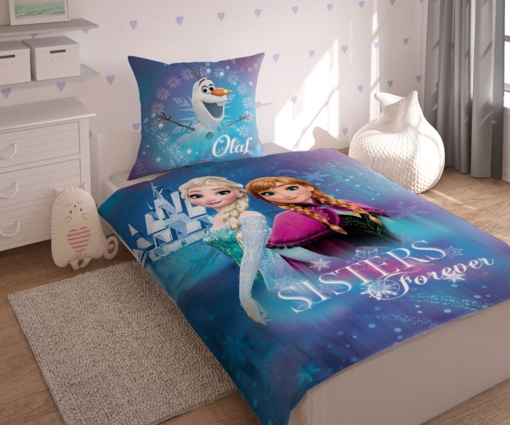 Ľadové kráľovstvo bavlnené detské posteľné návliečky