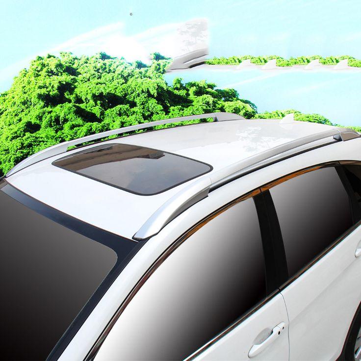 Автомобильная Поперечные рельсы На Крыше Багажник На Крыше Внешние Аксессуары открытый Путешествия Камера Для Honda CRV 2012 2013 2014 2015 2016