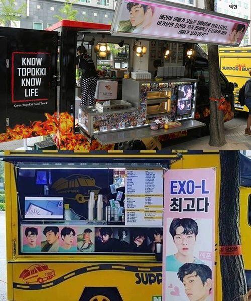 Exo S Food Truck Kpop Idol Kpop 10 Things
