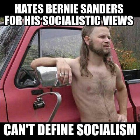 Cuz one day he's gonna be a millionaire, and don't want to pay high taxes on it. On his death bed, he realizes he never got rich, but he still hates socialism, cuz it's bad for billionaires, like he almost coulda been. Do you recognize this delusion? WAKE UP! You're being HAD, sucker.