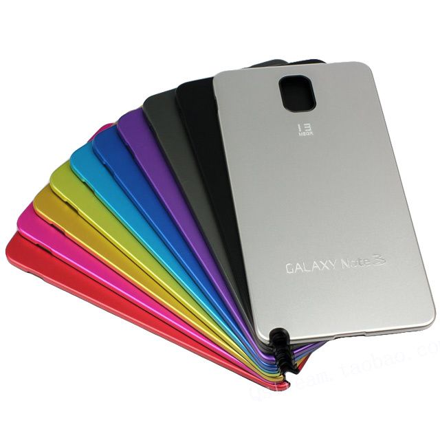 Galaxy Note 3 Metal Battery Replacement Cover Case
