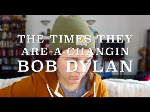 The Times They Are A-Changin - Bob Dylan (Cover) by ISABEAU - YouTube