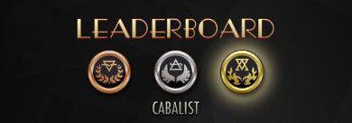 New Leaderbaords News | Cabals: Magic & Battle Cards
