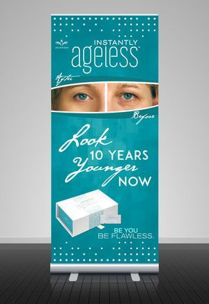 Tall Retractable Banner Stand ONLY $90.00 Printed and Shipped