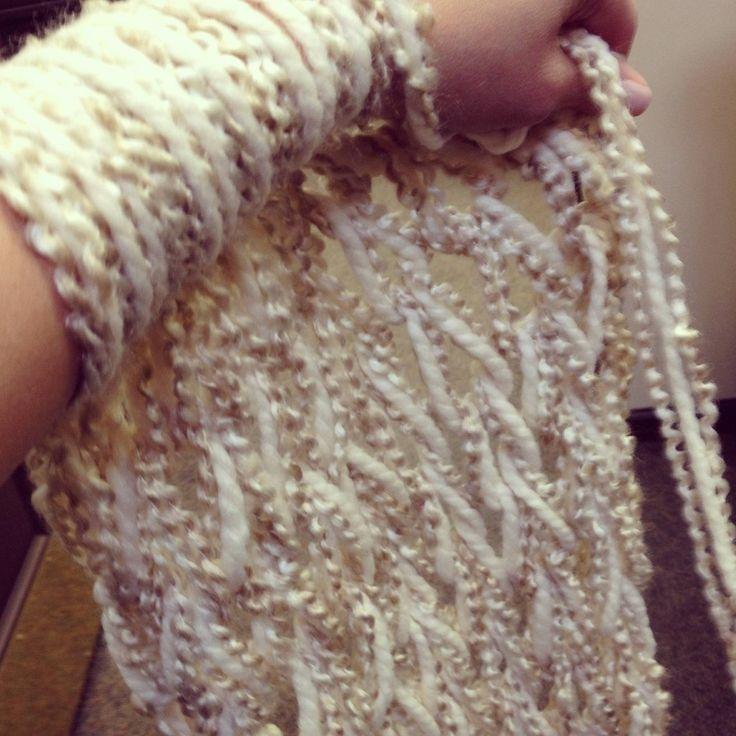 74 Best Arm Knitting Images On Pinterest Finger Knitting Arm