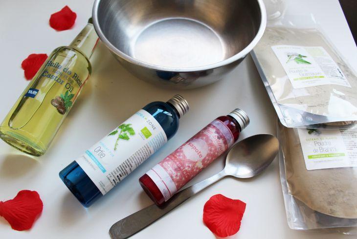 Recette de soin naturelle ultra nourrissante et démêlante pour cheveux crépus. Recette accessible à tous, petits et grands.