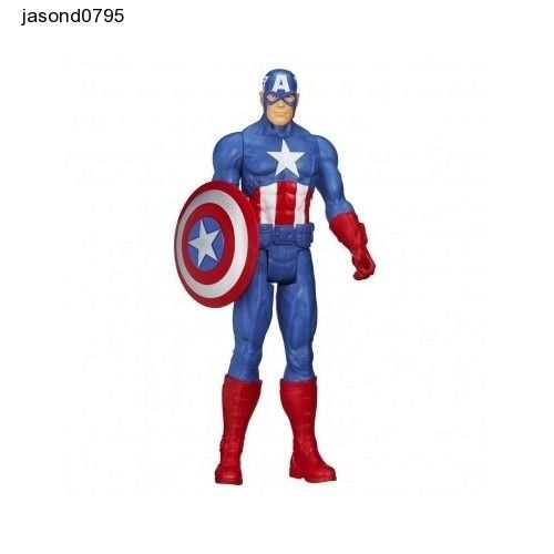 Marvel Avengers Captain America Action Figure Titan Hero Collectables Series