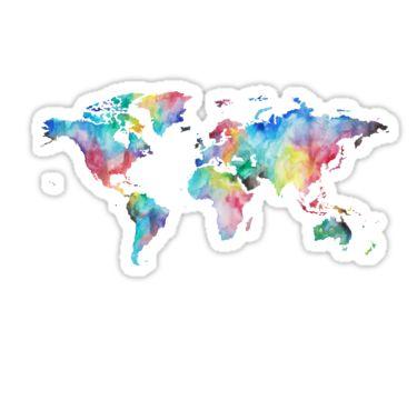 World | Sticker