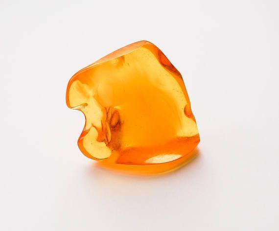 Polished Amber stone 30g
