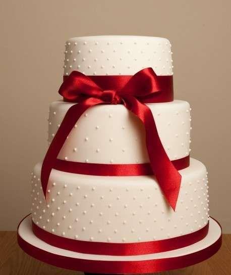 torta de bodas   Tartas de boda roja: Fotos de los mejores modelos (8/15)   Ella Hoy