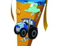 Schultüte Bastelset Traktor inkl. Schulstarterp...