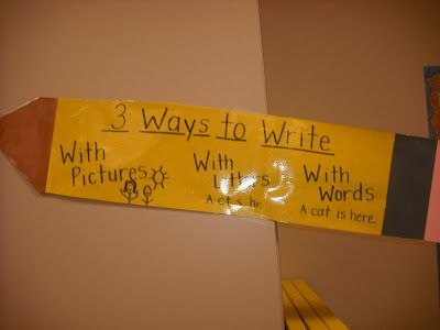 Sprinkles to Kindergarten!: Writer's Workshop