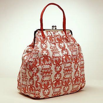 Russian Nesting Dolls bag from Ivana Helsinki.