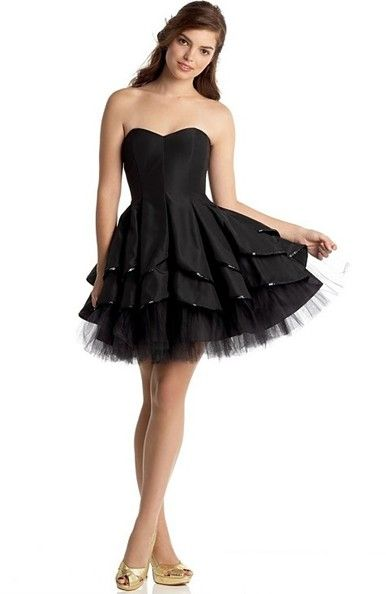 Short Edgy Prom Dresses