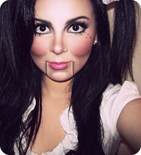 ventriloquist dummy makeup   Flickr - Photo Sharing!