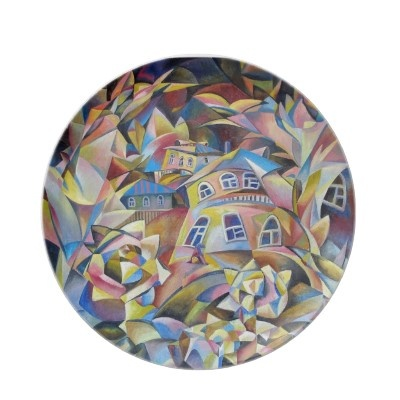 The greatest finding for anyone you can think of, this custom avant garde dish ware will surely look fascinating when coupled with this Zazzle seller's fine art.