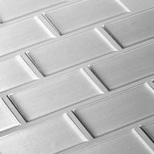 Manufacturer Self Adhesive Backsplash Peel Stick Wall Tile 3d Mosaic Stiker
