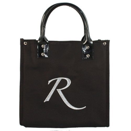 "Danielle D6660R Monogrammed Lunch Tote ""R"" by Danielle. $24.99. Roomy, stylish, and personalized - you'll be the talk of the lunchtime crowd!. ""Brown bagging"" will be a distant memory with these sleek and sophisticated lunch totes.. Keeps food both warm and cool. Made from high quality microfiber, monogrammed with your initial for that extra special touch."