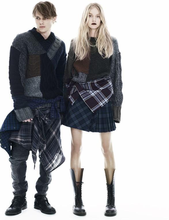Elle Italia - Neo Grunge November 2011