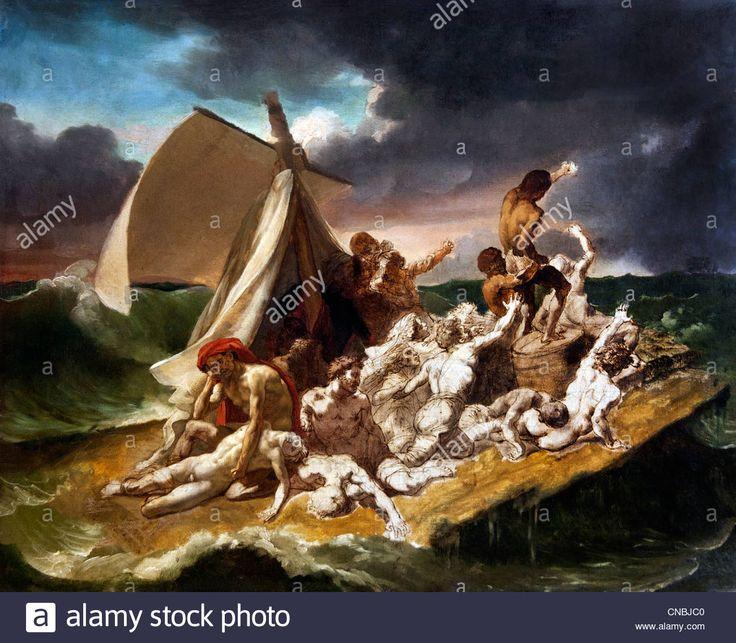 Radeau de la Méduse - The Raft of the Medusa 1819 by Jean Louis Stock Photo, Royalty Free Image: 47584432 - Alamy