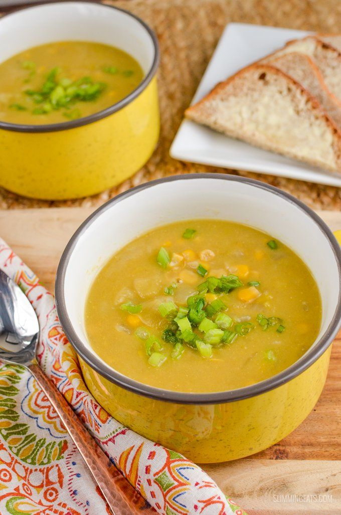 Dig into a delicious bowl of Syn Free Sweetcorn and Leek Soup a perfect recipe for the whole family to enjoy.