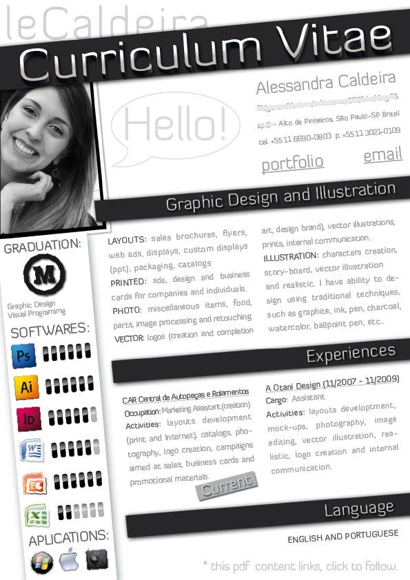 1000+ Images About Bewerbung On Pinterest   Creative Resume, Cover