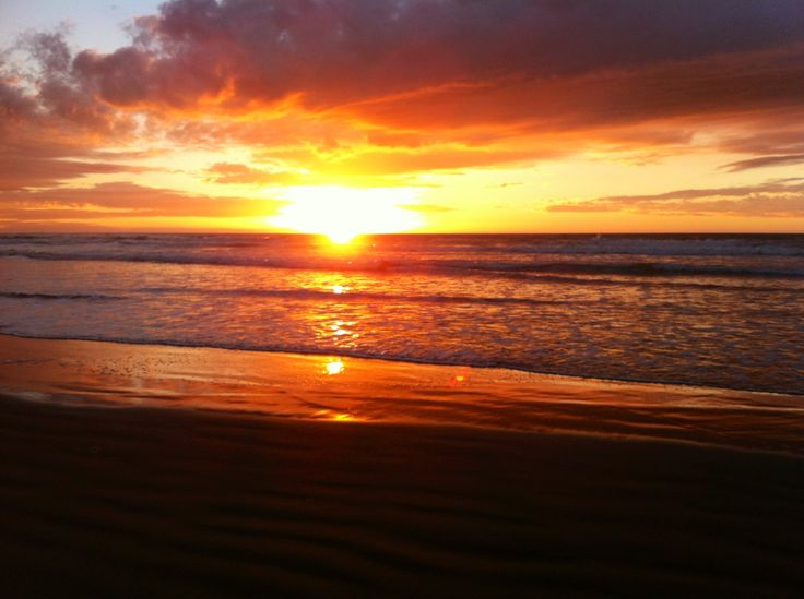 Himatangi Beach Sunset December 2013 - Amanda Simpson