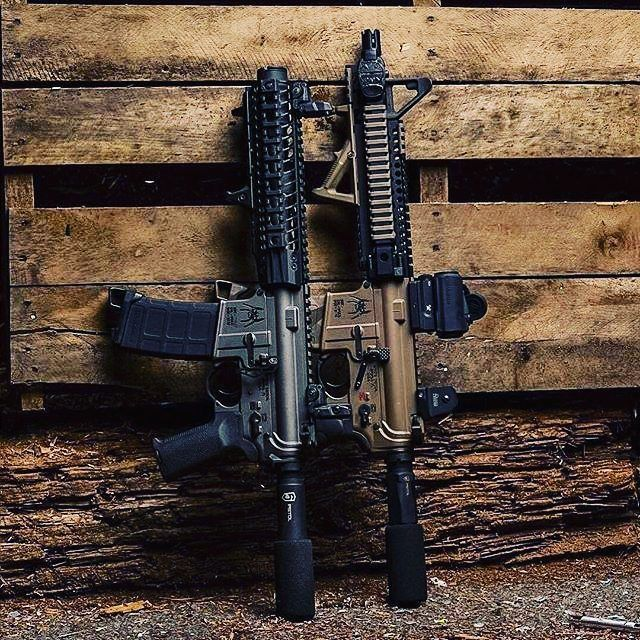 """#Repost @cornbred15  @spikes_tactical receiver sets in FDE and Tungsten. #ar15pistol spikes_tactical LPK and BCG. @danieldefense 10.3"""" barrel and 9.5"""" lite rail. @phase5weaponsystems pistol buffer tube. @xtechtactical 3 position grip. @magpul mag w/ @magpod @battlearms safety selector @vortexoptics SPARC AR red dot #ar15 #arpistol #ar15pistol #ar #rifleholics #igmilitia #instaguns #pistol #phase5weaponsystems #magpul #phase5tactical #danieldefense #sprk #sbrnation #sickgunsallday…"""