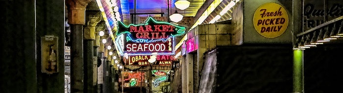 Seattle Pike Place Market, nothing else like it! Unique with below and above ground shopping and a foodee's delight.