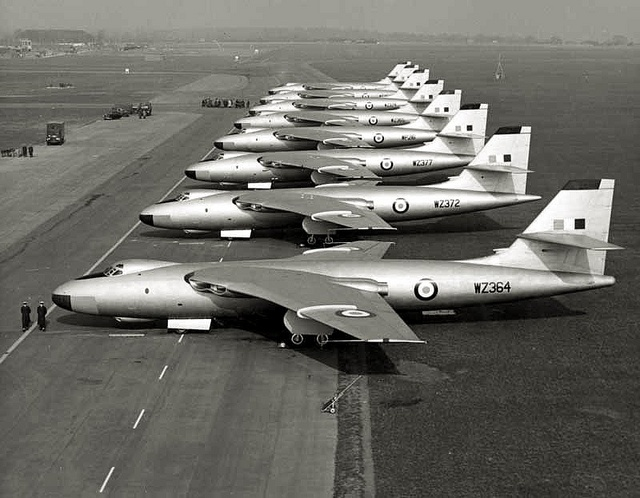 Vickers Valiants.