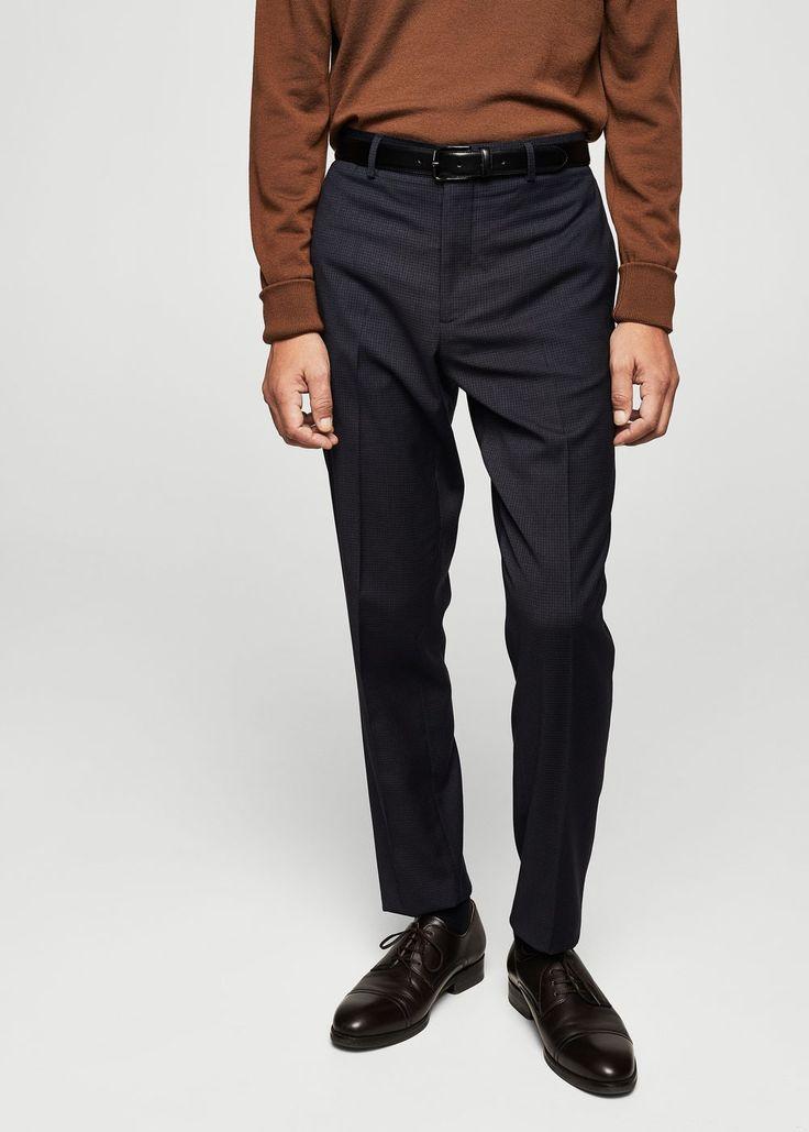 Super-slim suit pants | MANGO MAN