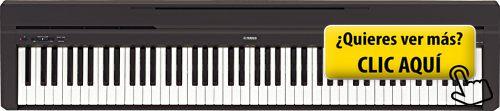 Yamaha P-45B - Piano digital (88 teclas, 64... #instrumento