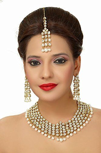 Indian Bollywood Elegant Pearls Kundan Gold Plated Weddin... https://www.amazon.com/dp/B01MTBZE2L/ref=cm_sw_r_pi_dp_x_0bEHyb1XMHEX5