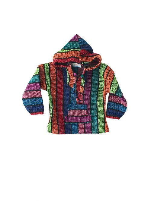 Kids Mexican Baja Jumper / Sweater - rainbow