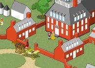 Felicity:  Interactive site about Williamsburg, VA: Colonial people, tour the town, games and activities.