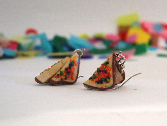 Fairy bread earrings $18.95