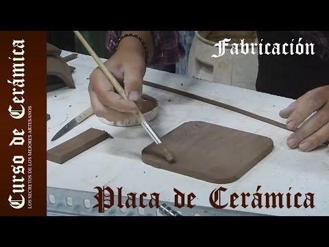 Curso de Cerámica - Fabricar Placa de Cerámica Modelada en Relieve - YouTube