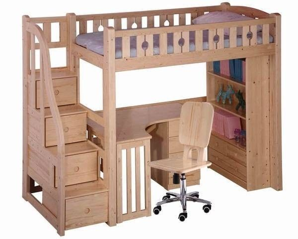 Full Size Loft Bed With Desk Underneath Foter Remodeling Ideas