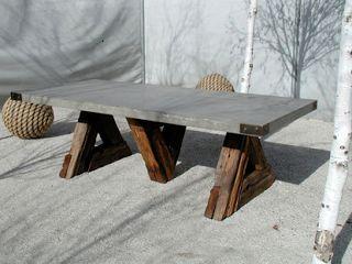 best 25+ concrete table ideas on pinterest | concrete table top
