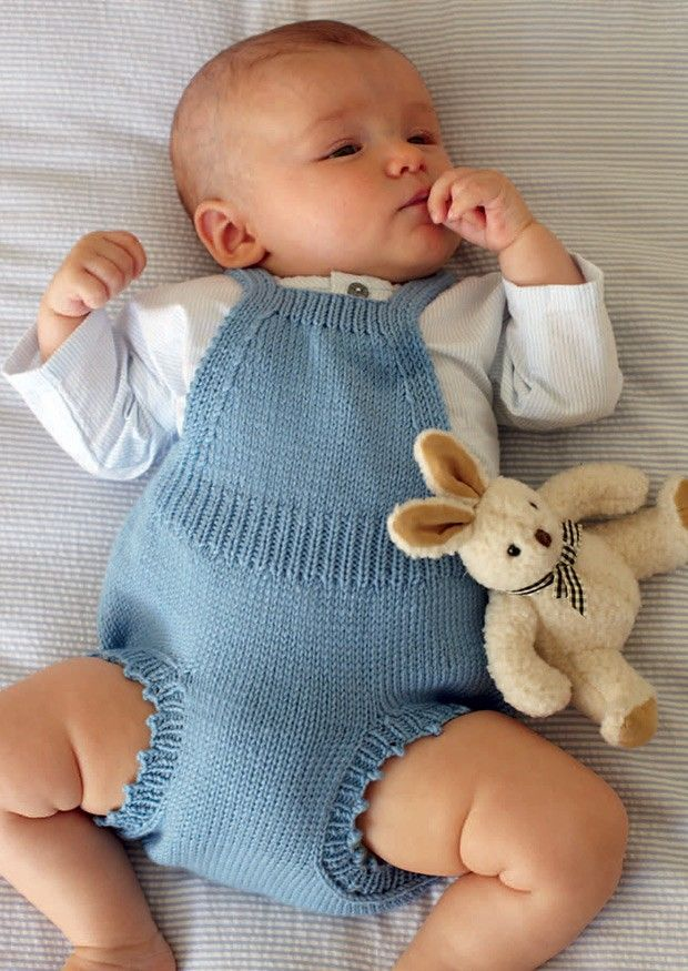 Romper by Debbie Bliss - Digital Version | Baby Knitting Patterns | Knitting Patterns | Deramores
